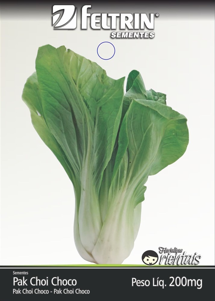 Pak-Choi Choko - contém 200 miligrama(s) de semente(s)