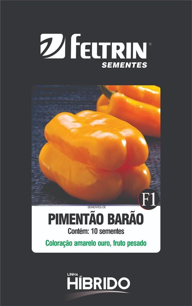 Pimentão Barão - contém 10 sementes