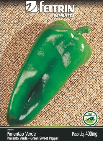 Pimentão Casca Dura Ikeda - contém 400 miligrama(s) de semente(s)