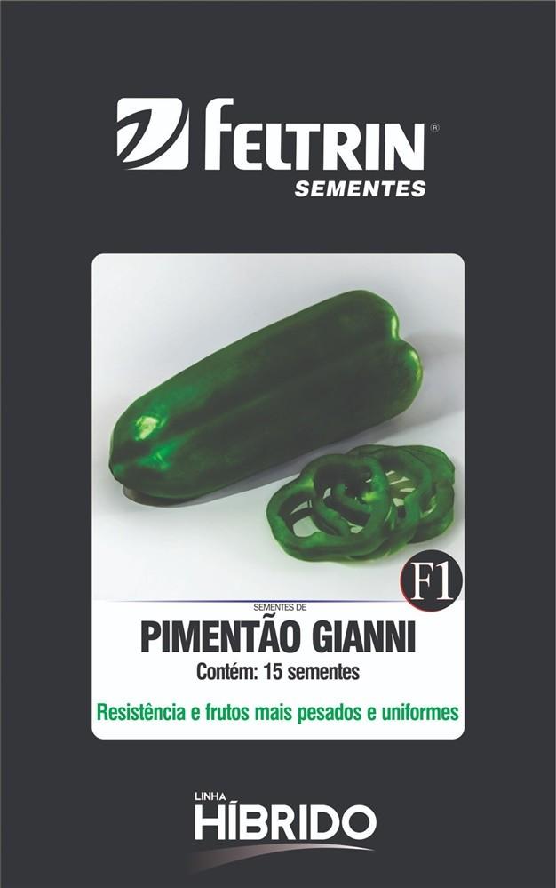Pimentão Gianni - contém 15 sementes