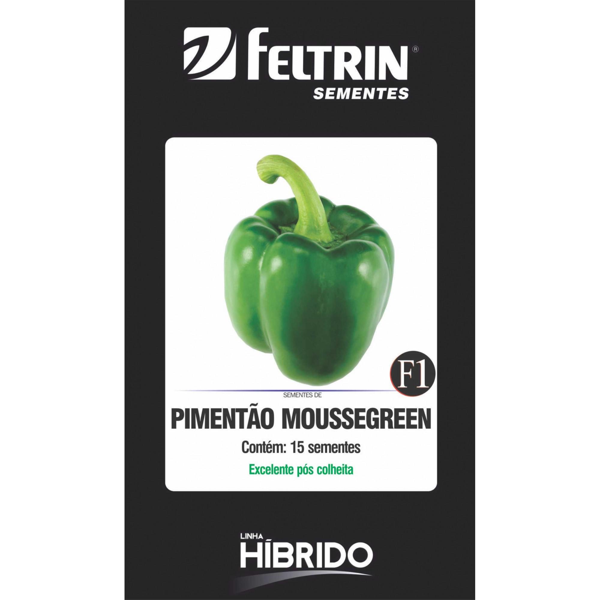 Pimentão Moussegreen - contém 15 sementes
