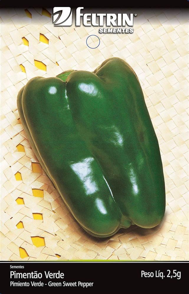 Pimentão Yolo Wonder - contém 2,5 grama(s) de semente(s)