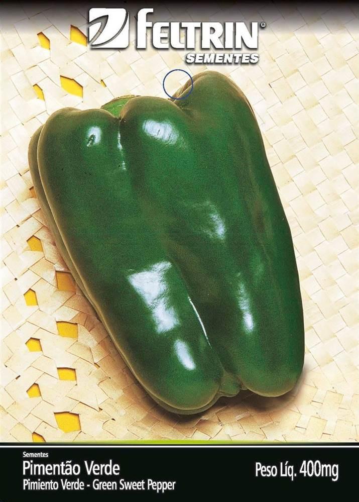 Pimentão Yolo Wonder - contém 400 miligrama(s) de semente(s)