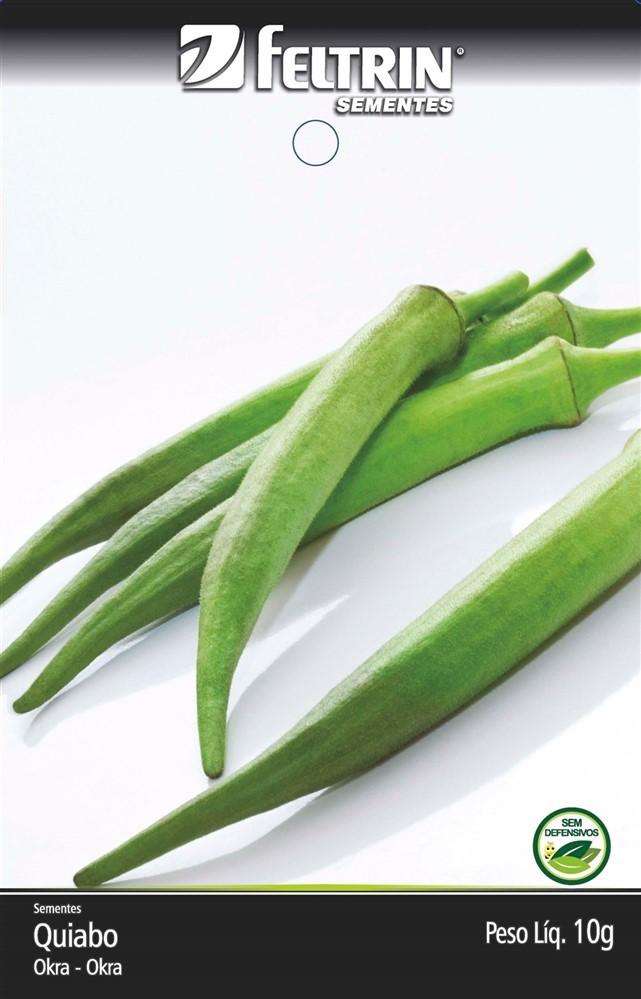 Quiabo Valença - contém 10 grama(s) de semente(s)