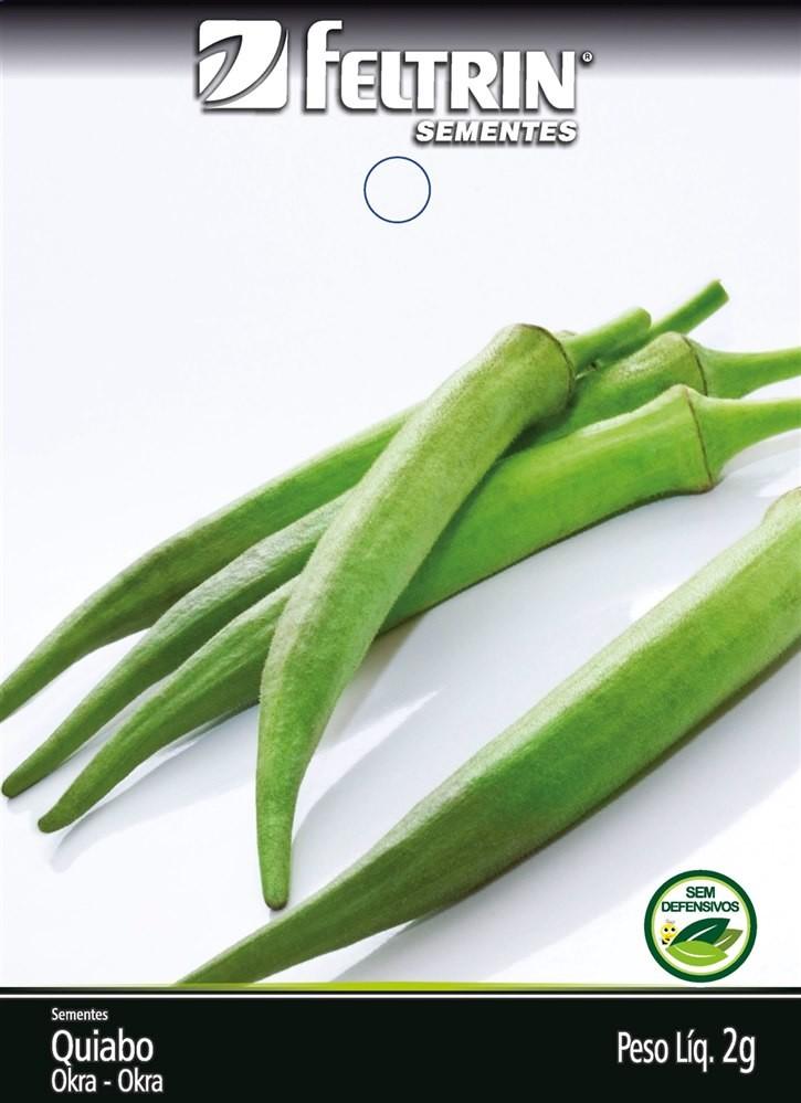 Quiabo Valença - contém 2 grama(s) de semente(s)