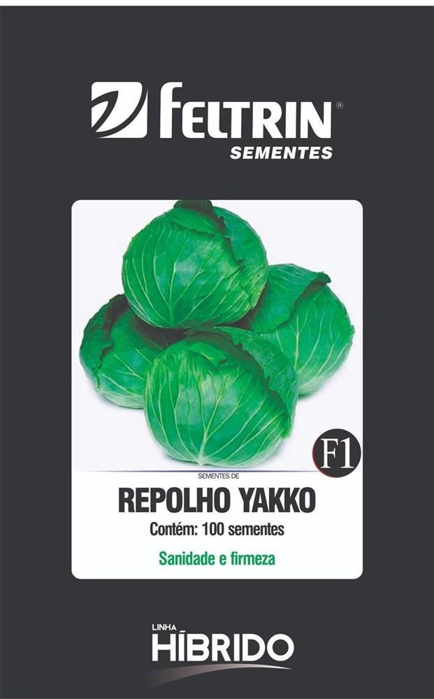 Repolho Mini Yakko - contém 100 sementes