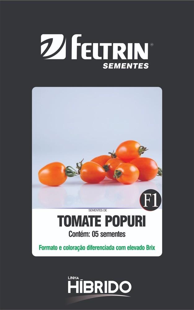 Tomate Mini Popuri - contém 5 sementes