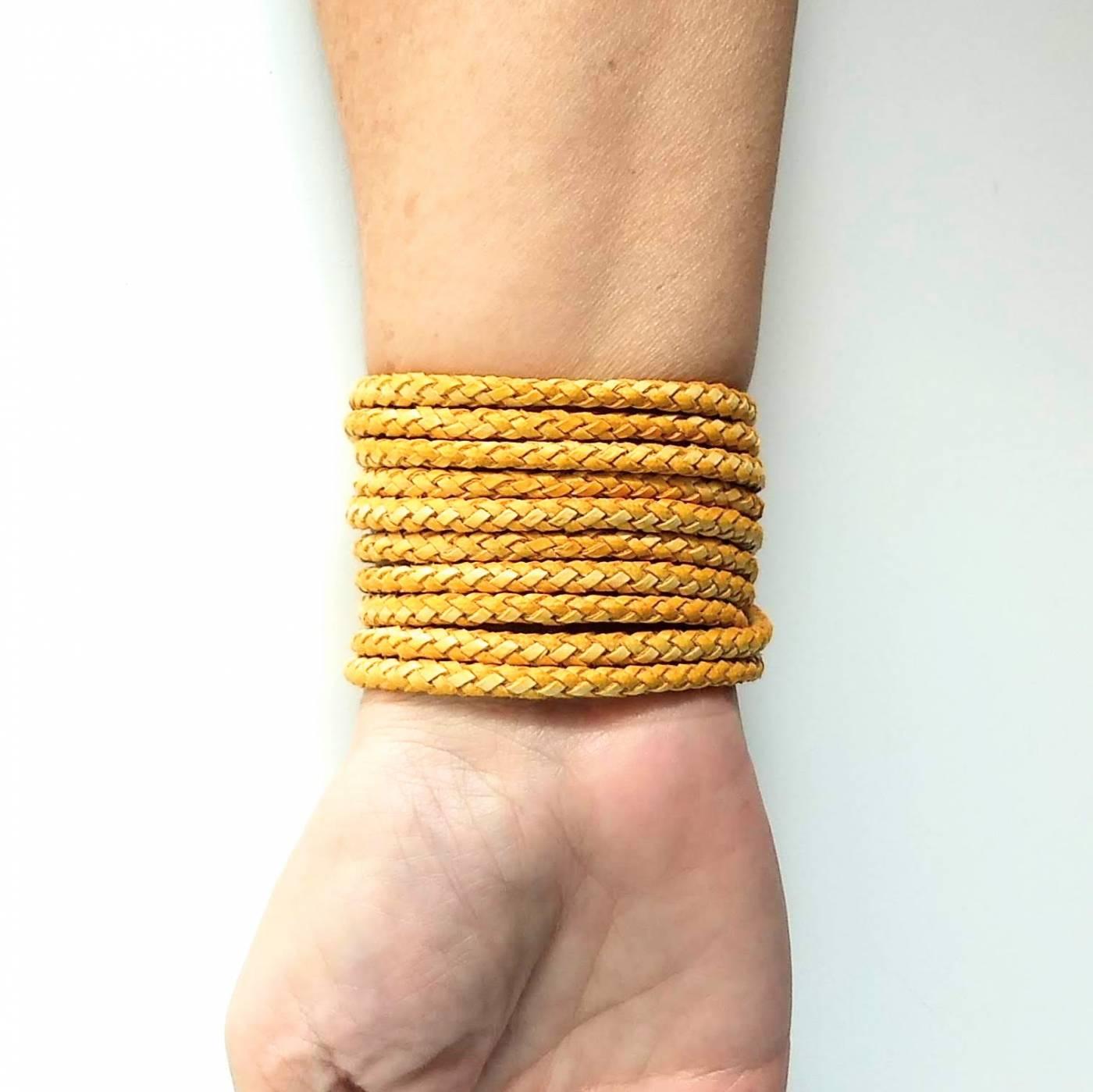 Pulseira GIULIA Amarelo