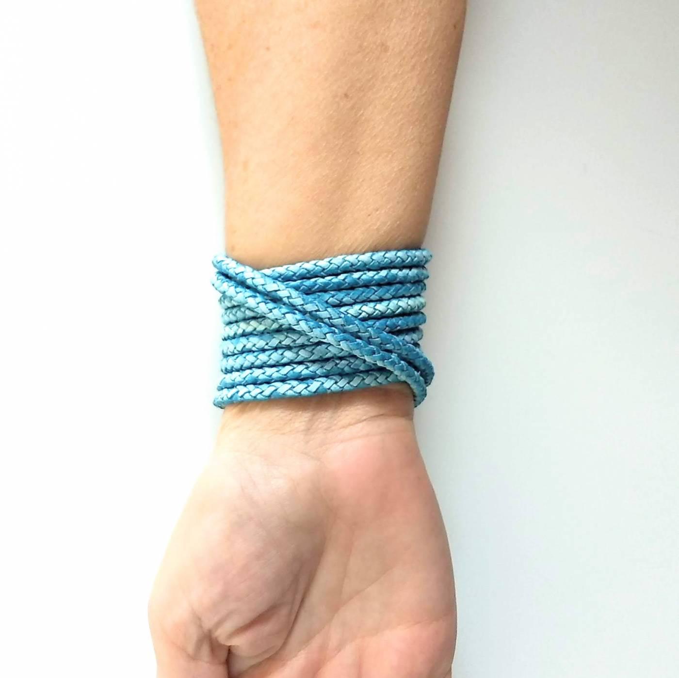 Pulseira GIULIA Azul Claro