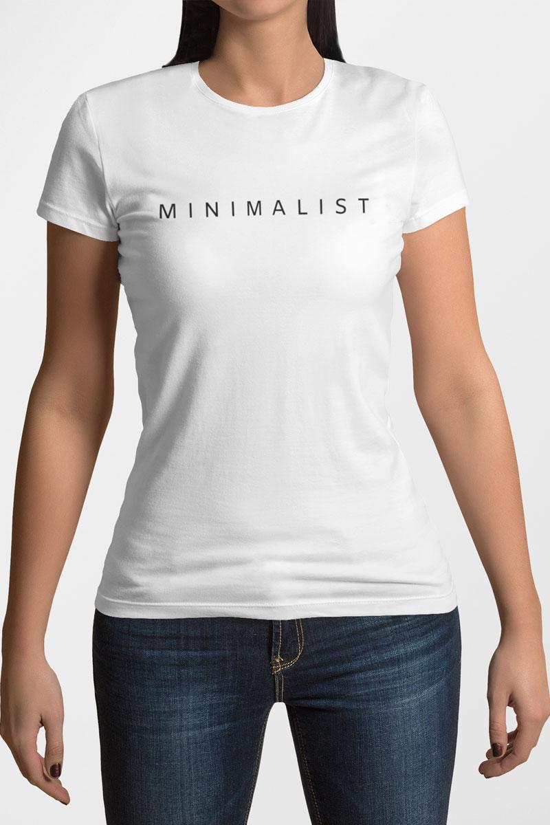 Camiseta Feminina Minimalist