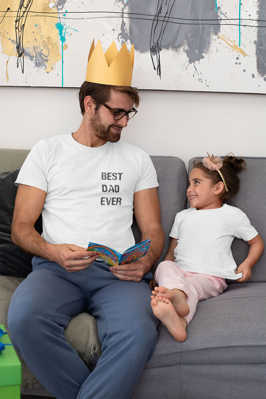 Camiseta Masculina Best Dad Ever