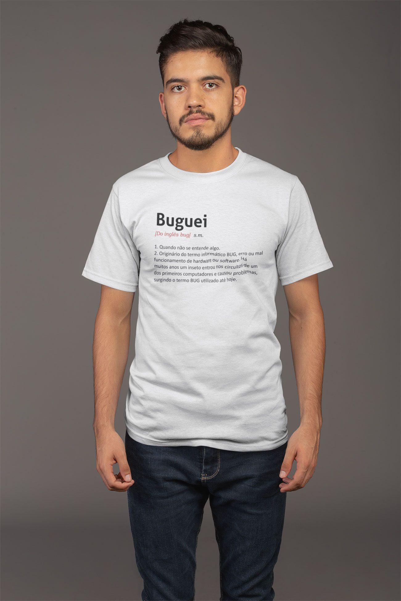 Camiseta Masculina Buguei