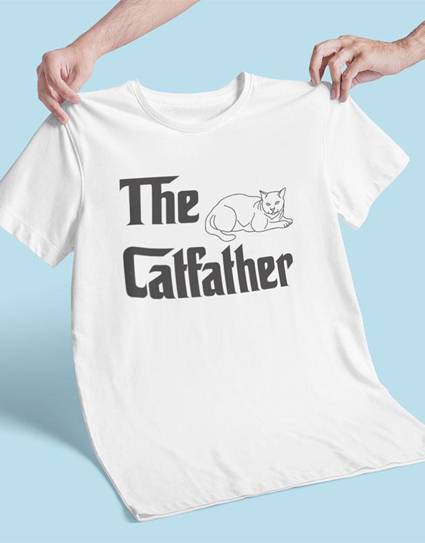 Camiseta Masculina Catfather