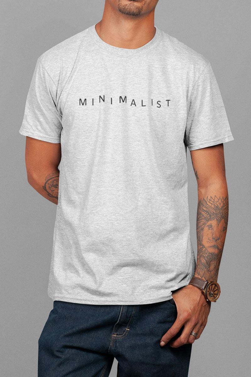Camiseta Masculina Minimalist