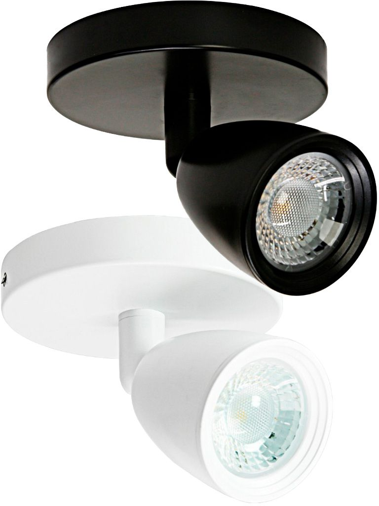 Direct - Spot led com base circular 1x4W