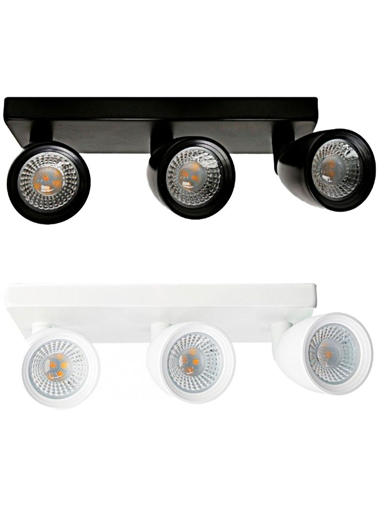 Direct - Spot led com base linear - 3x4W