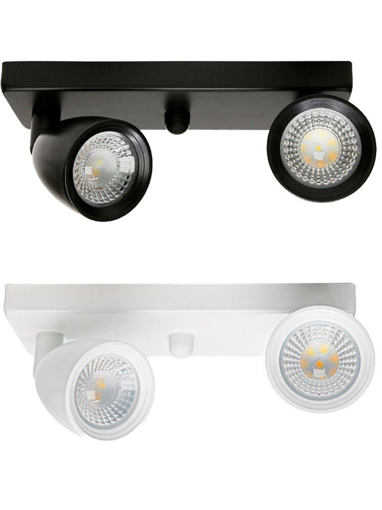 Direct - Spot led com base linear - 2x4W