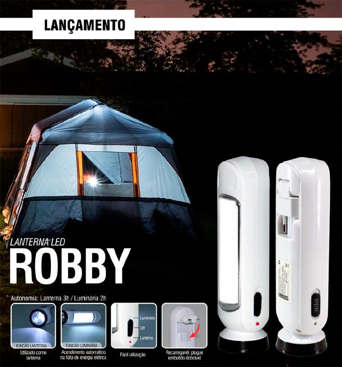 Lanterna de Led Robby Led - Taschibra