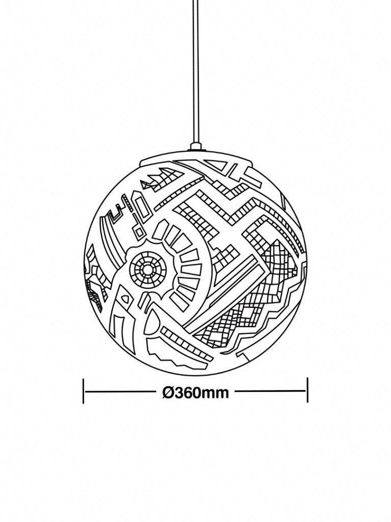 Luminária Pendente Taschibra Asteka