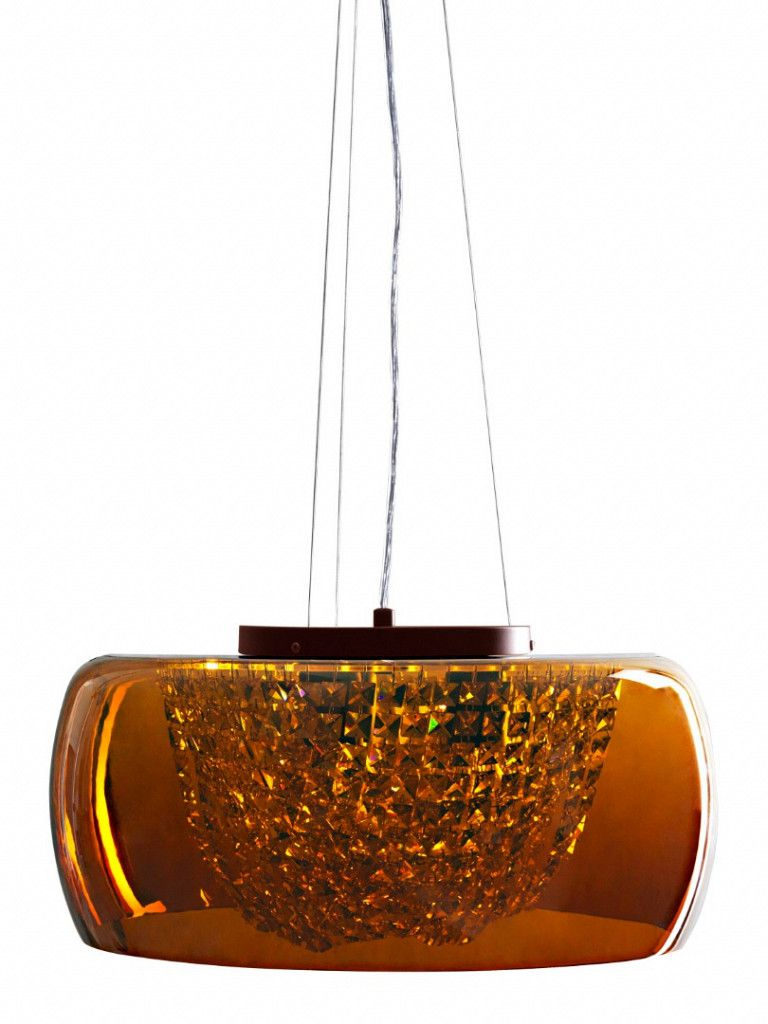 Luminária Pendente Taschibra Cristal Modelo Giulia