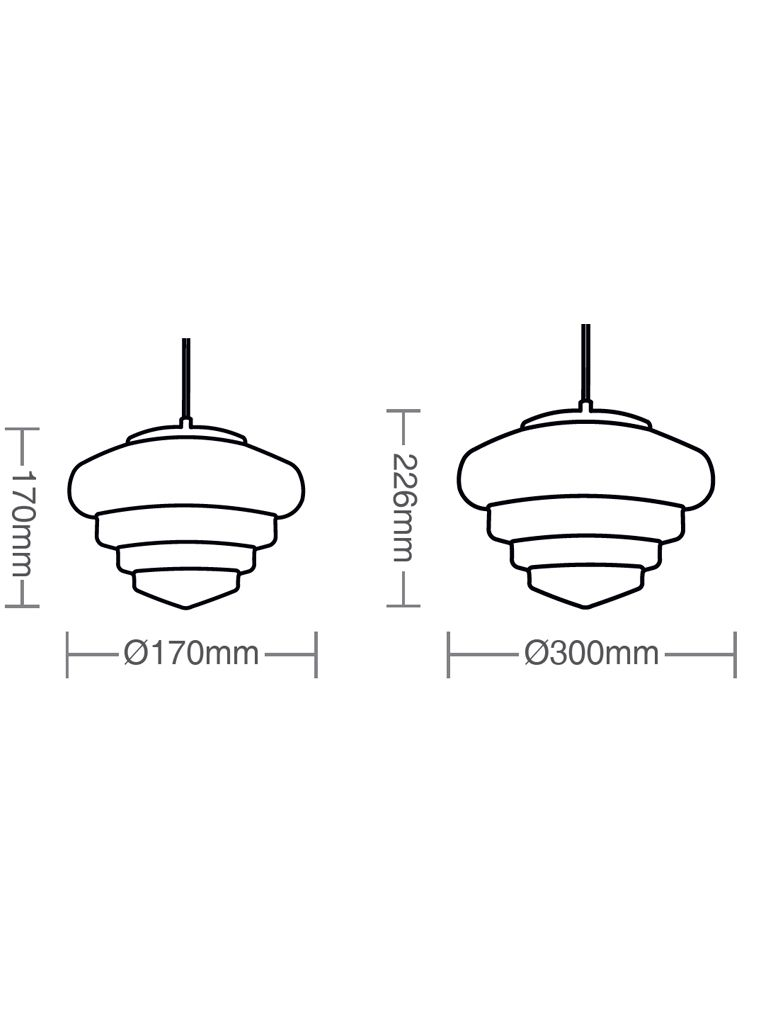 Luminária Pendente Taschibra Modelo Erica