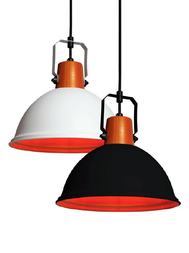 Luminária Pendente Taschibra Modelo Factory - 275mm x 280mm - P