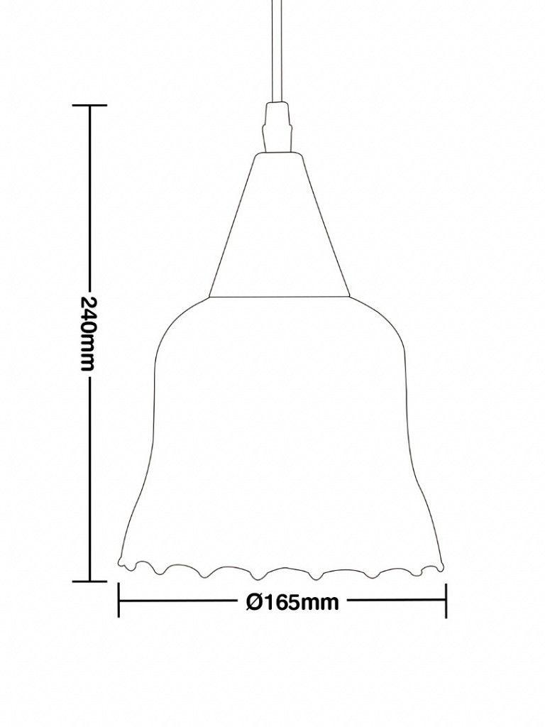 Luminária Pendente Taschibra Modelo Gávea