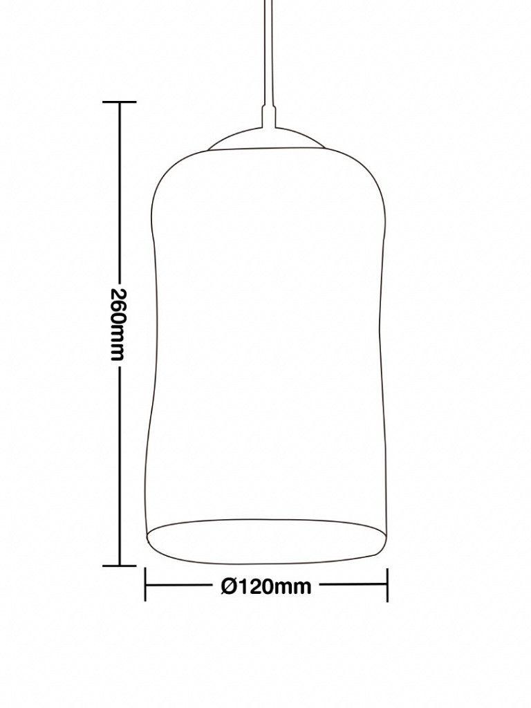 Luminária Pendente Taschibra Modelo Glade