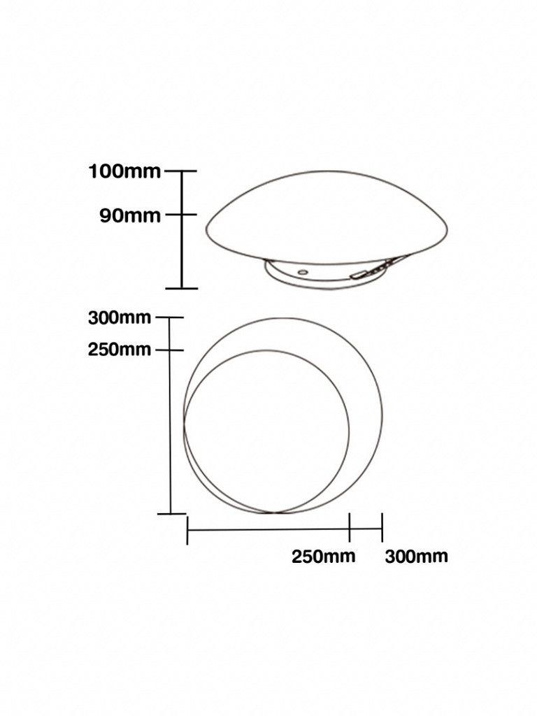 Luminária Pendente Taschibra Modelo Jurerê - Com Led