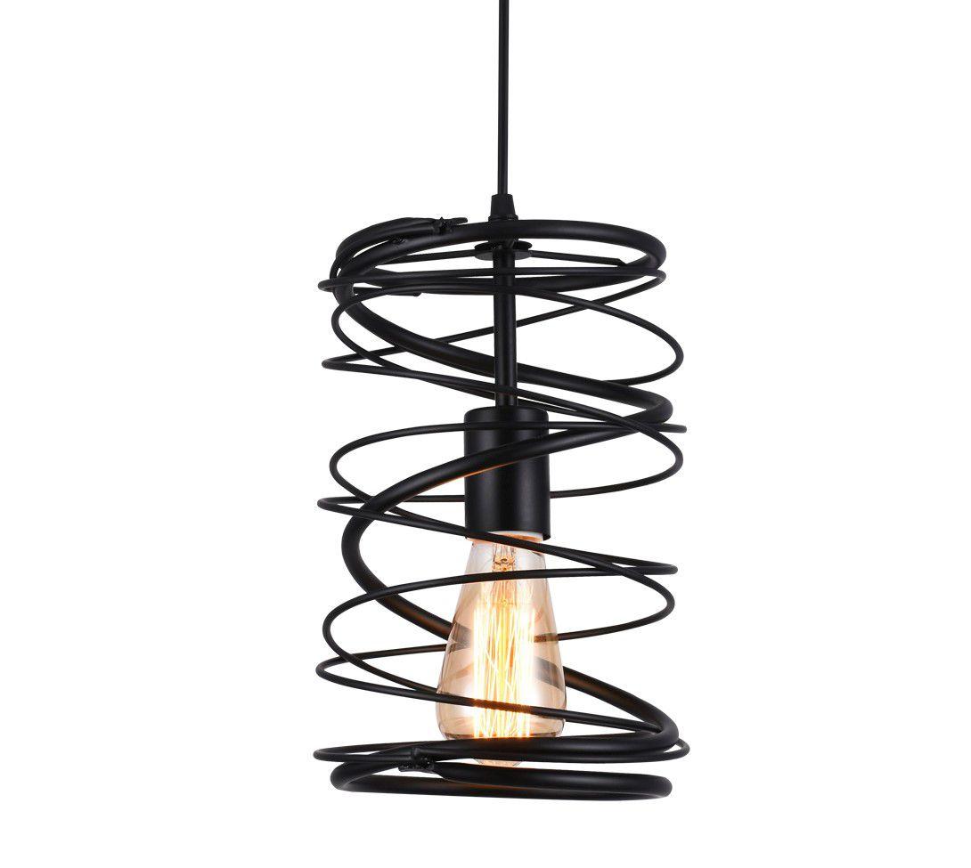 Luminária Pendente Taschibra Modelo Twister Aramado