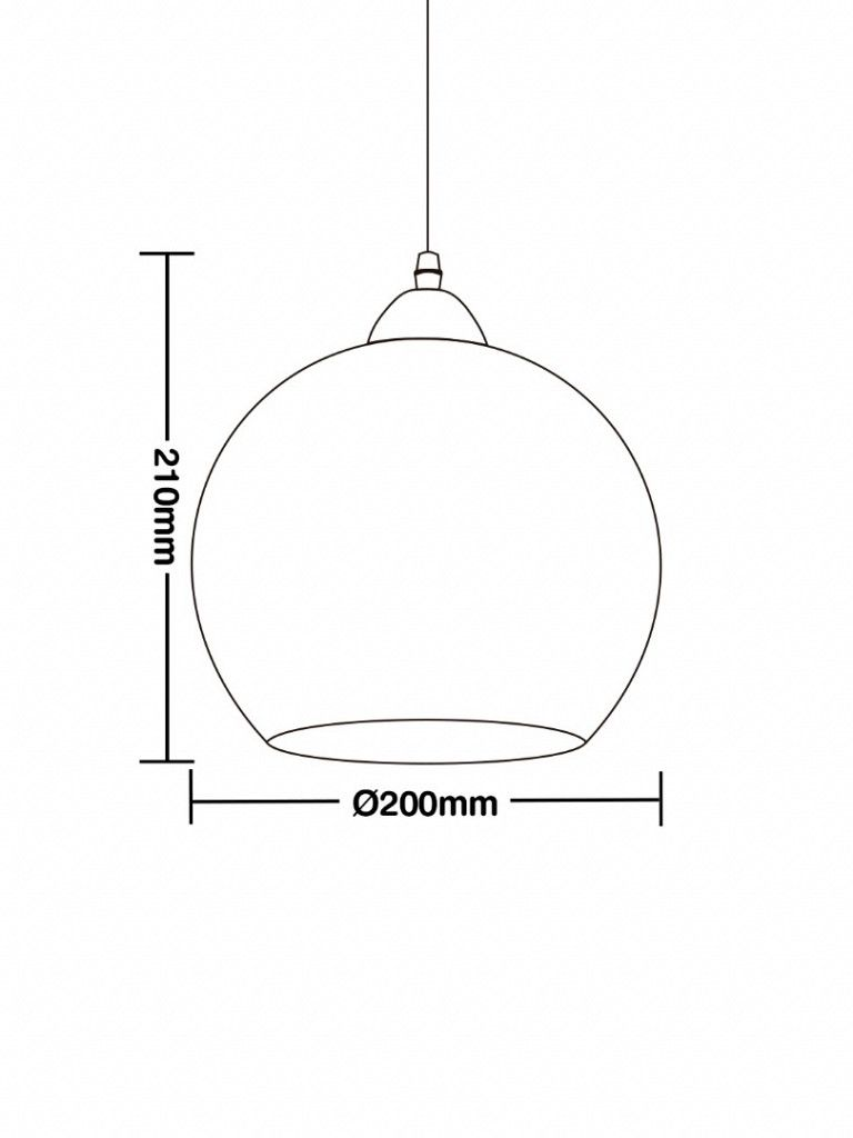 Luminária Pendente Taschibra TD 3016