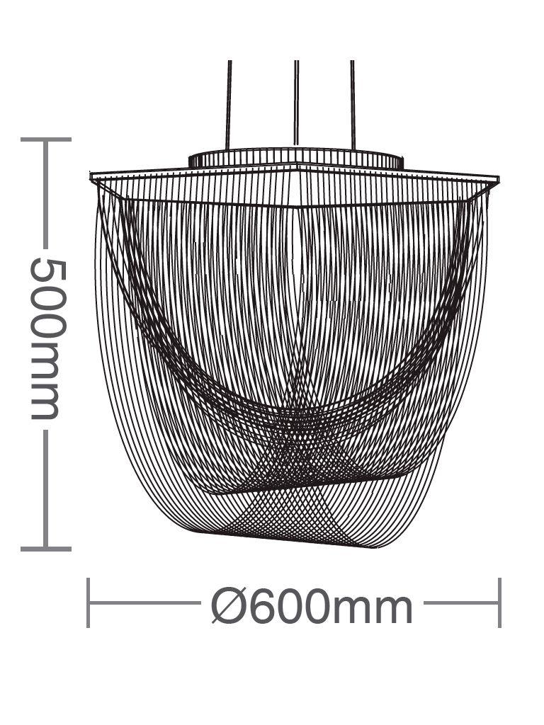 Luminária Pendente Taschibra Valentina