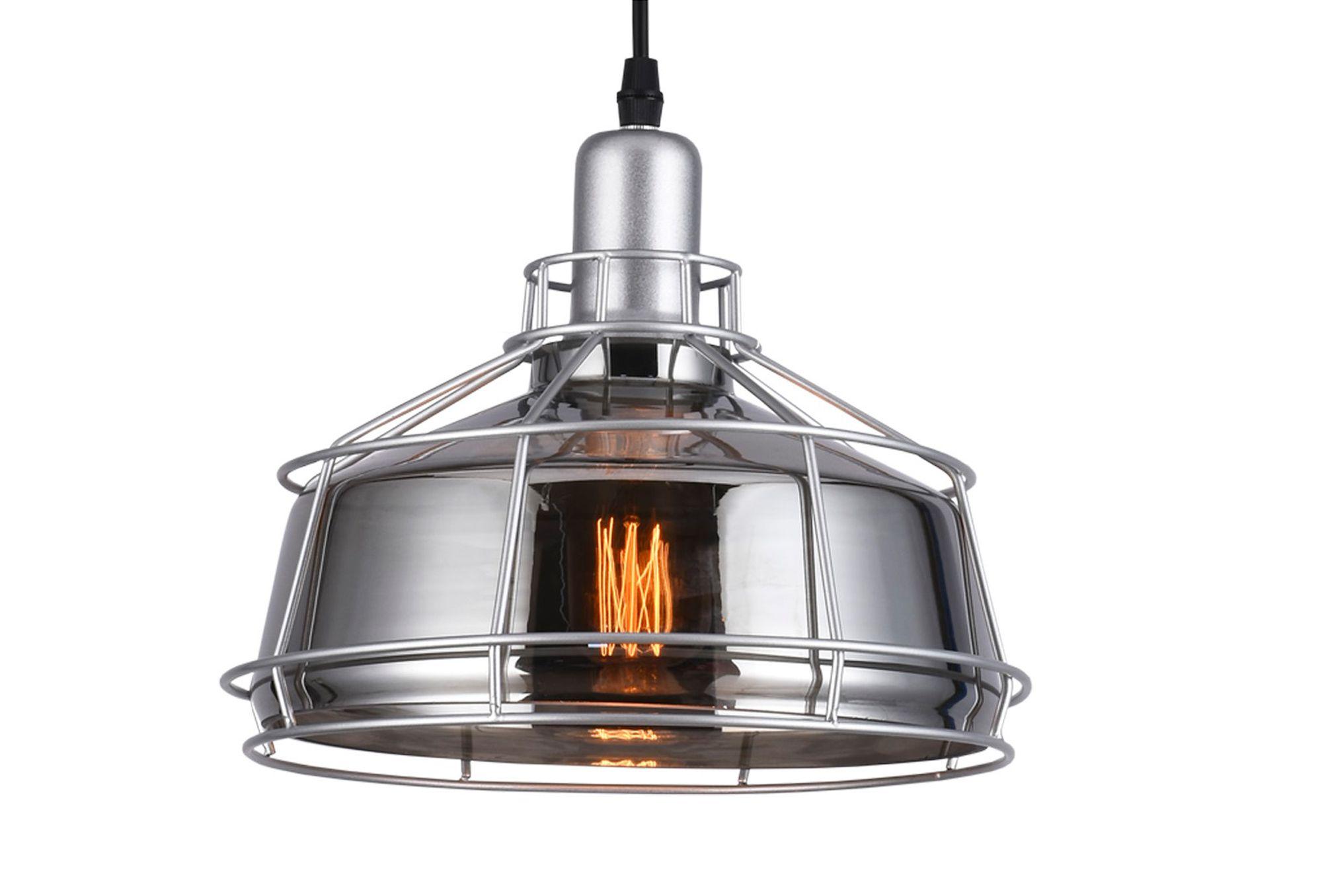 Luminária Pendente Vidro Taschibra Modelo Aro 260