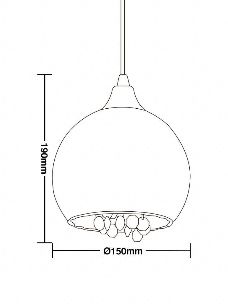 Luminária Pendente Vittá Taschibra