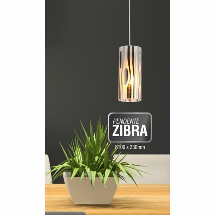 Luminária Pendente Zibra Taschibra - 1xE27