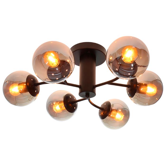 Luminária Plafon Neutrons - Taschibra 6xE27