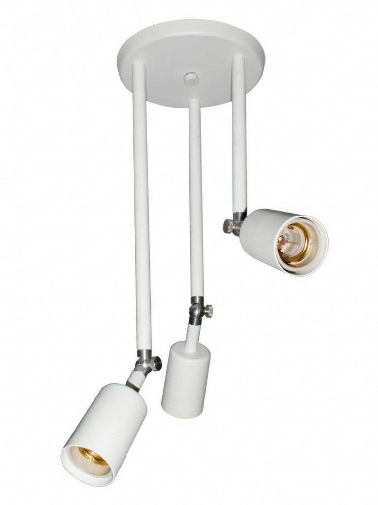 Luminária Plafon Taschibra Modelo Pointer 3 braços - 3xE27