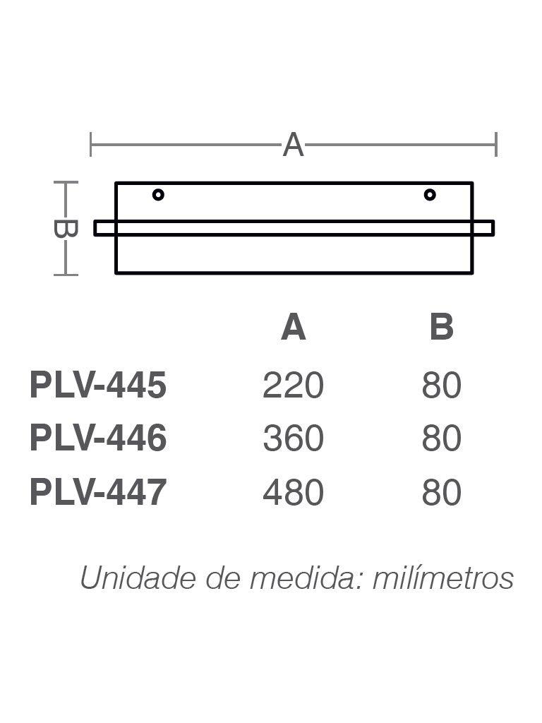 Luminaria Plafon Taschibra Modelo Vega - 2-4xE27
