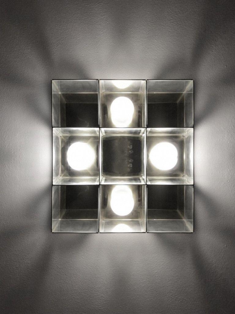 Luminária Plafon Taschibra Modelo Versus Quadrado - 4xE27