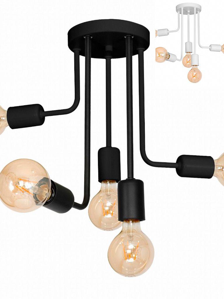 Luminária Plafon Taschibra modelo Ways 5xE27