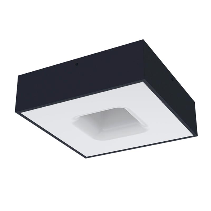 Luminária Plafon Waffle Taschibra 4xE27 (p/lâmpada)