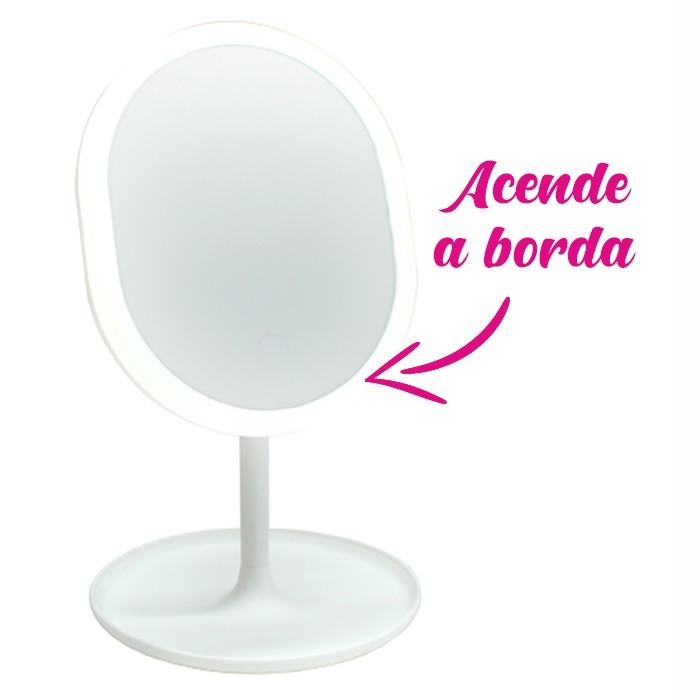 Make Led Espelho de Mesa para Maquiagem