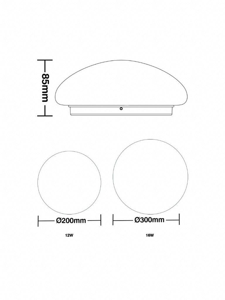 Plafon Taschibra Led Modelo Orion