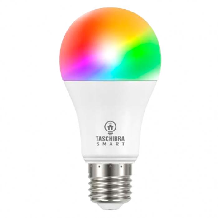 Smart Lampada Wifi Taschibra Led Rgb Colorido Controle Celular