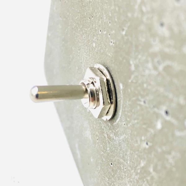 Kit 2 Luminárias de Cimento Quadrada de Mesa com Lâmpadas G95 LED  - ZOLT luminárias