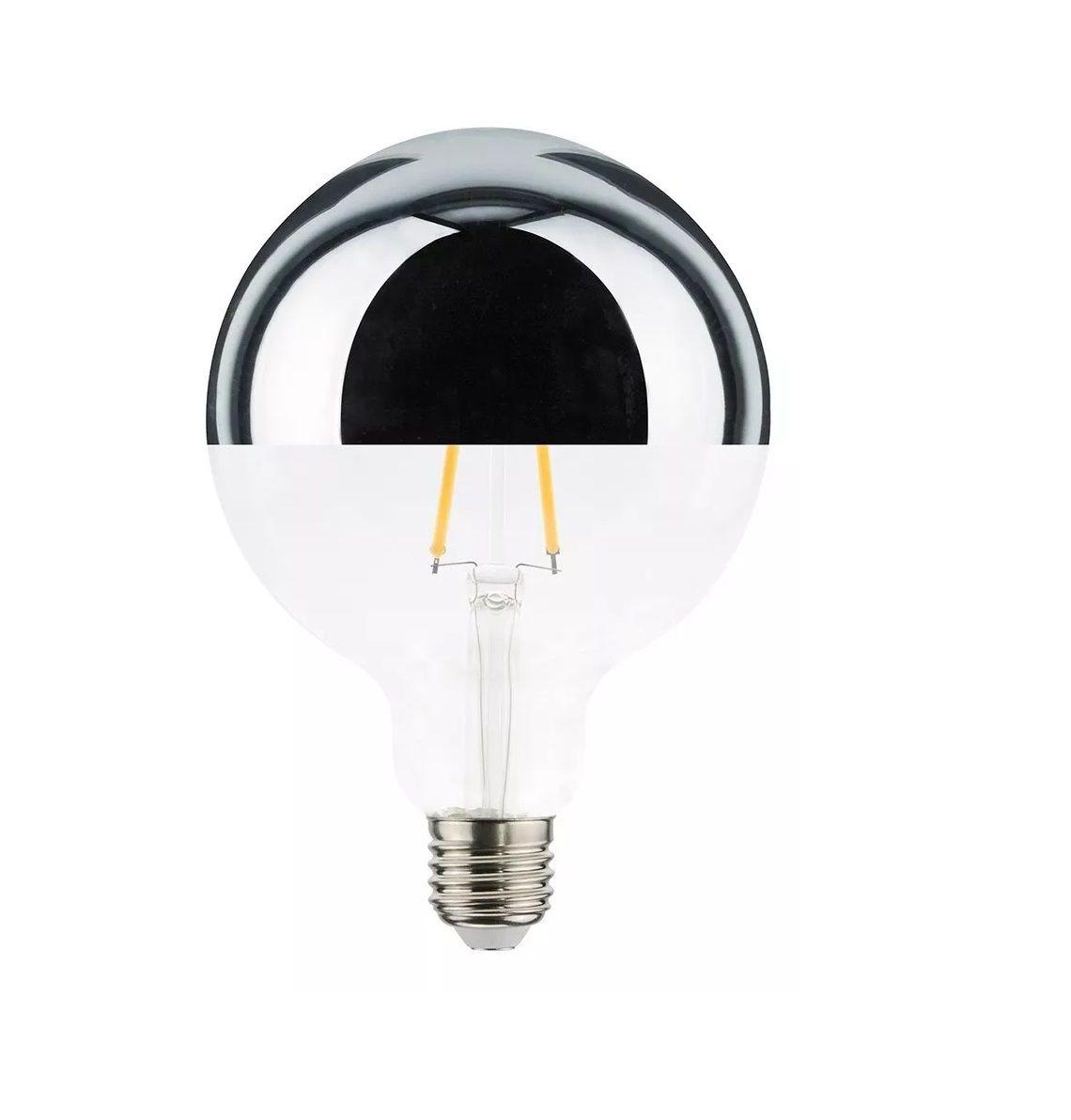 Lâmpada LED defletora G125 6w BIVOLT  - ZOLT luminárias