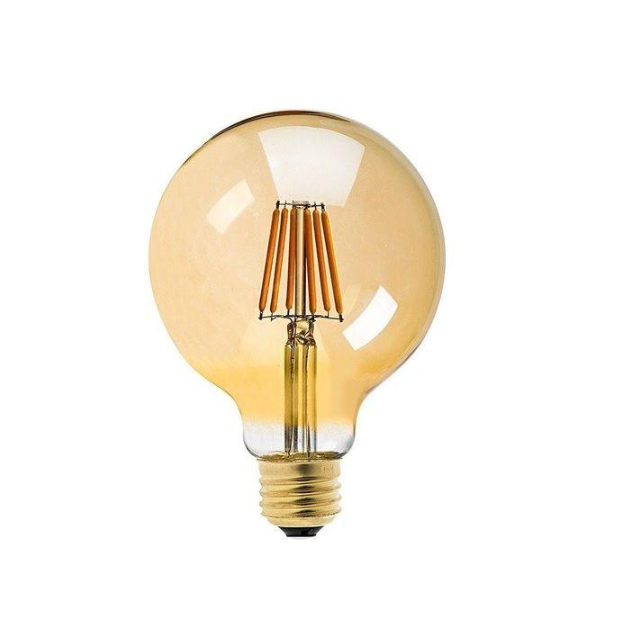 Lâmpada G95 Filamento LED bocal e-27 Bivolt  - ZOLT luminárias
