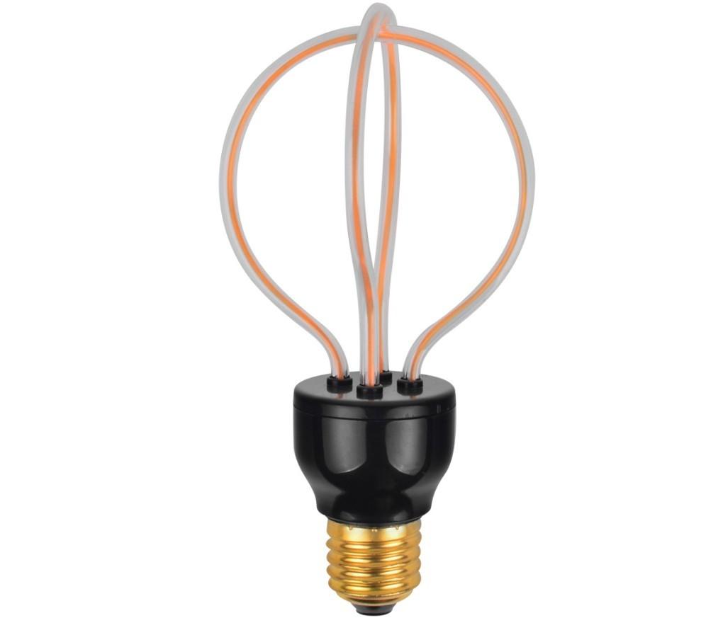 Lâmpada LED 3D Arco LED sem Vidro modelo A2 4w  - ZOLT luminárias