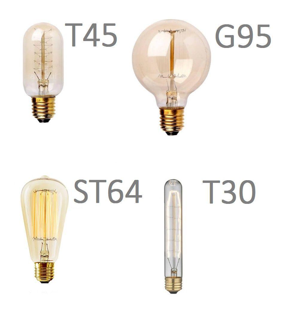 Lâmpada T45 Filamento de Carbono Dimerizável 40w e-27  - ZOLT luminárias