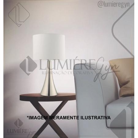 ABAJUR CASUAL LIGHT  QAB1069-DO TURRET 1L E27 40W Ø200X365MM DOURADA